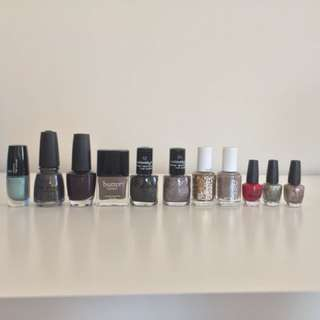 Set of 11 Nail Polishes