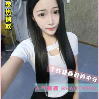 2@$48 deal!❤ PO centre parting ladies full wig   * waiting time 10 days after payment is made *pm to order