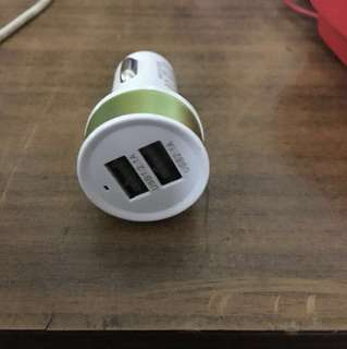 Car or motorbike usb charger 2x2.1a