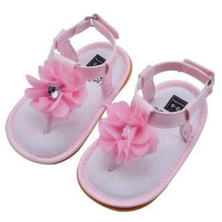 Baby Girls Flowers Sandal Prewalker Shoes