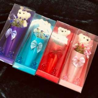 Flower soap set