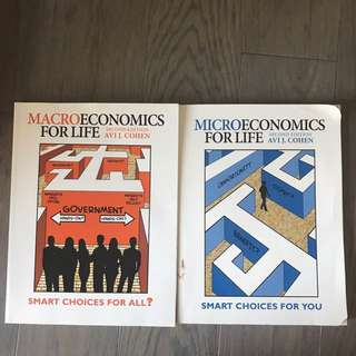 ECO105 Y micro and macro books second edition