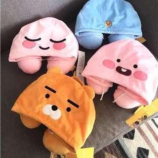 韓國🇰🇷萊恩熊U型抱枕