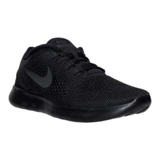 Nike Womens Free RN Running Shoes in Black - Size 7.5