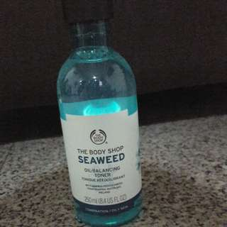 The Body Shop SeaWeed Oil Balancing Toncer ($10 only(