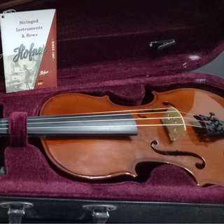 Karl Hoffner 3/4- Inch Violin - great for beginners! (REPRICED)