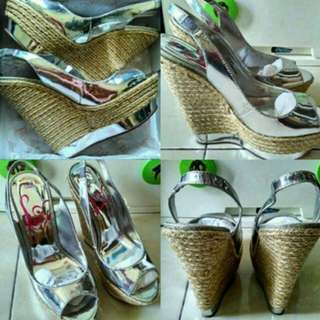 Turun Harga!!! Wedges Lipsy London Original Size 41