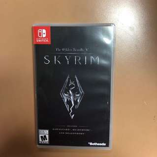 Skyrim for Nintendo switch