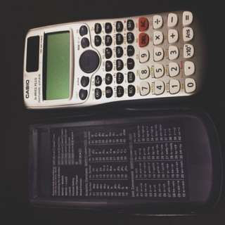 Fx-991ES Plus calculator