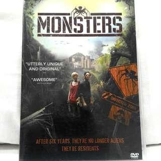 MONSTERS (Alien movie rated PG) DVD