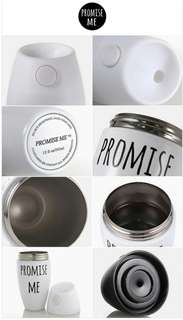 🚚 太陽御用 PROMISE ME THERMOS BOTTLE保溫杯 保溫瓶 悶燒罐 BIGBANG Taeyan