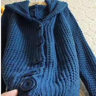 📍免運價📍🌺韓國保暖親膚針織連帽外套 面料親膚柔軟保暖!