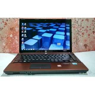 Laptop Berkualitas Tinggi HP ProBook 4432s core i3 RAM 4GB HDD 320GB ATI RADEON + HD GRAPICH MEMORY 2GB