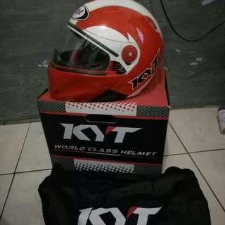 Helm kyt rocket (red) like new
