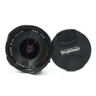 Voigtlander Super Wide Heliar 15mm F4.5 Asp. II (M-Mount)