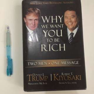 Why we want you to be rich by Trump and Kiyosaki