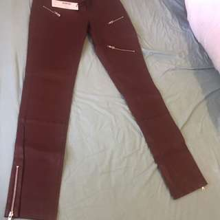 Sambag Leather Pants