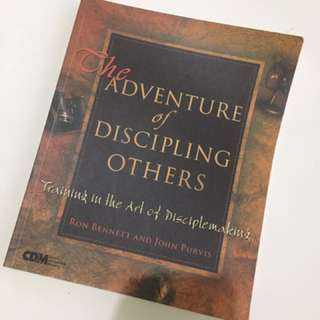 The adventure of discipling others