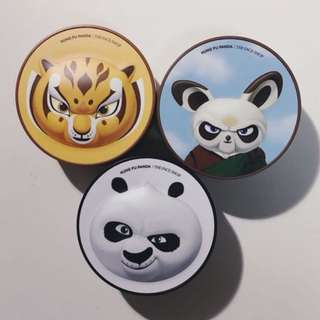 BN The Face Shop x DreamWorks Kungfu Panda CC cushions