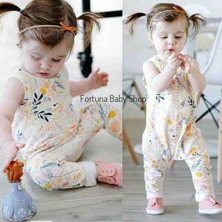 Jumpsuit Flower