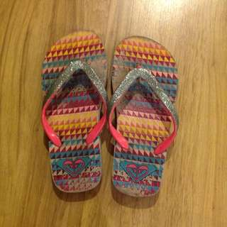Authentic ROXY slippers
