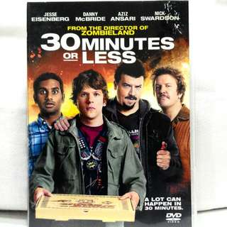 30 MINUTES OR LESS (Comedy rated M18)
