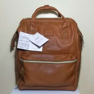 Anello Large Back Pack (Brown)