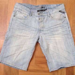 Men's Industrie Denim Shorts