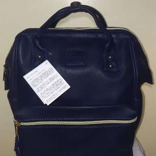 Anello Large Back Pack (Navy Blue)
