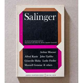 Salinger: A Critical and Personal Portrait edited by Henry Anatole Grunwald