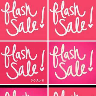 FLASH SALE (Everything must go)