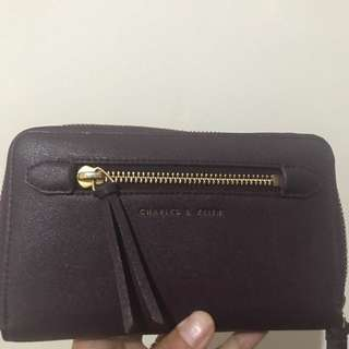 Preloved Dompet - Charles and Keith ORI
