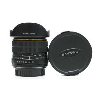 Samyang 8mm F3.5 CS Fish-eye Lens (Canon)