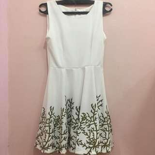 White-Gold Dress