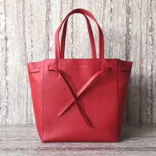 賽琳 2208 現貨 Celine 荔枝紋縮口購物袋尺寸:袋口長48cm 27-16-30