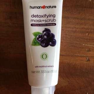 Human Nature Detoxifying Mask+Scrub