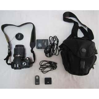 Nikon D60 Complete Package with Freebies