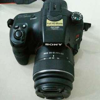 Sony A57 + Sony 18-55mm
