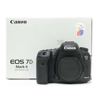 Canon EOS 7D Mark II Body (SC 8K) Box Set