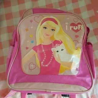 Barbie tolley bag