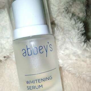 ABBEY'S Whitening Serum