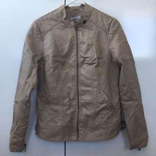 PU Jacket Stone/Brown