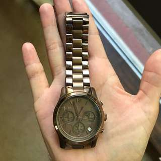 Michael Kors Bronze watch