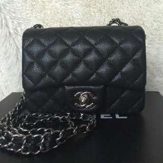 Chanel Square Mini Black