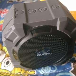 Elliot Audio Ultra Rugged Bluetooth Speaker (BLACK) REPRICE