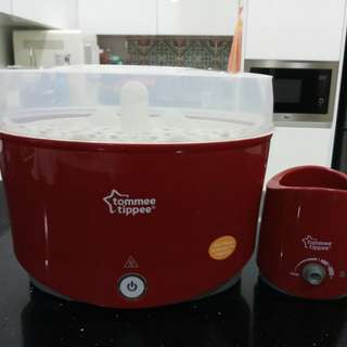 Tommee Tippee Electric steam sterilisier and bottle warmer