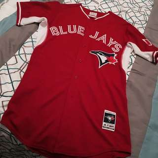 Red Canada Toronto Blue Jays Jersey