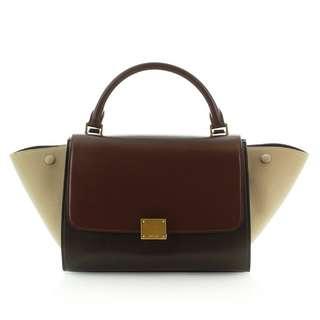 (8半成新)Celine Trapeze Handbag.