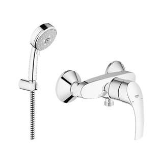 Grohe Shower Set Kran 33555002 + Hand Shower 27588001