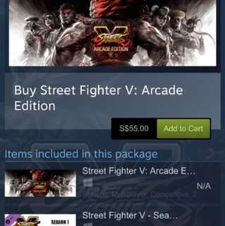 Street Fighter V :Arcade Edition